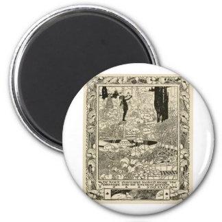 Frame1 2 Inch Round Magnet