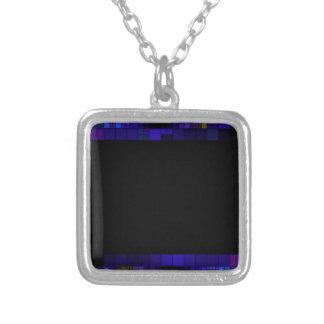 frame-417838 SQUARES RECTANGLES frame  dark color Necklaces