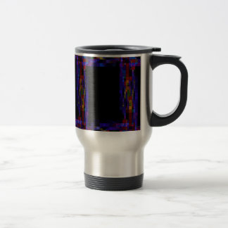 frame-417838 SQUARES RECTANGLES frame  dark color Travel Mug