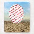 Frame at the Beach mousepad