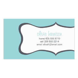 frame calling card Double-Sided standard business cards (Pack of 100)
