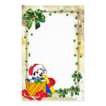 "Frame for photo ""Christmas present "" Stationery"