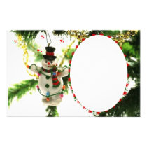"""Frame for photo """"Doll of Christmas """" Stationery"""