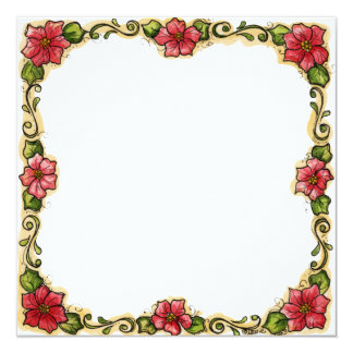 """Frame for photo """"Flowers """" Card"""