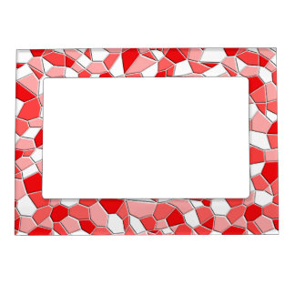 Frame - Magnetic - Shades of Red Mosaic