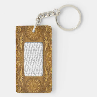Frame Template Antique I Keychain