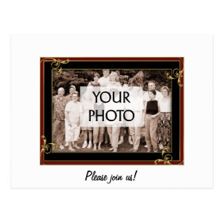 Frame the Gang Postcard