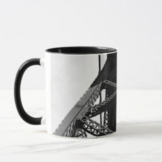 Frame Themed, A Picture Of An Iron Structure That Mug