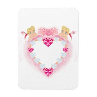 frame with cupids Premium Flexi Magnet