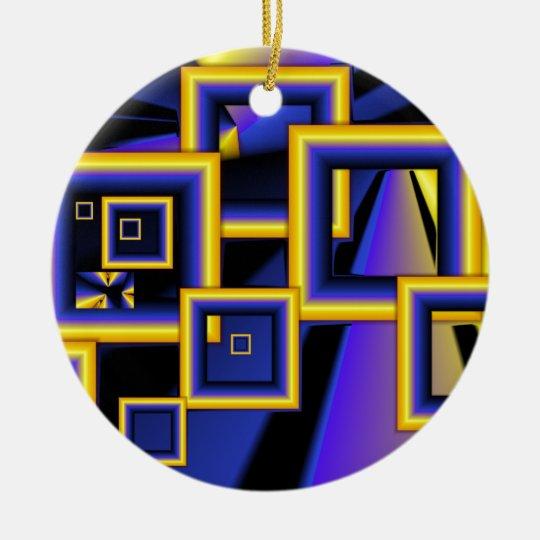 Framed art.png ceramic ornament