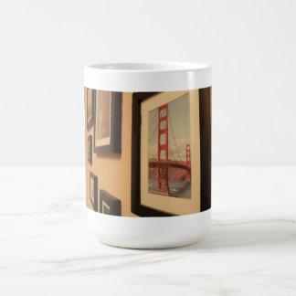 Framed art wall mugs