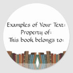 Framed Book Sticker