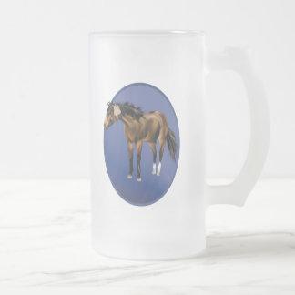 Framed Buckskin Horse Mug