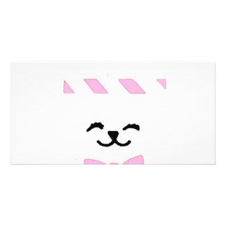 FRAMED BUNNY WHITE CARD
