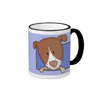 Framed Cartoon German Shorthaired Pointer Mug