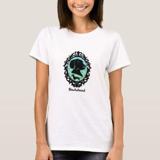 Framed Dachshund Illustration T-Shirt