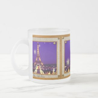 Framed Eiffel Tower Mug mug