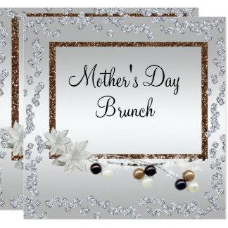 Framed Elegance Mother's Day Brunch Card