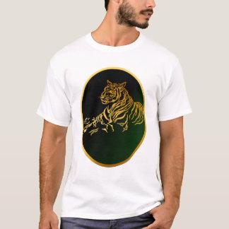 Framed Gold Tiger Shirt