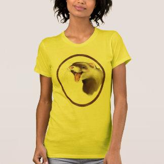 Framed Happy Ferret T-Shirt