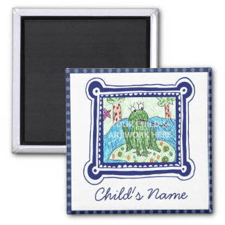 Framed in Blue Magnet  $4.70