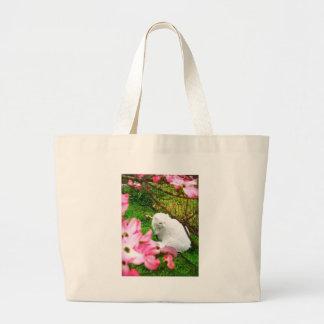 Framed in Pink Canvas Bag