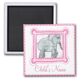 Framed in Pink Magnet  $4.70
