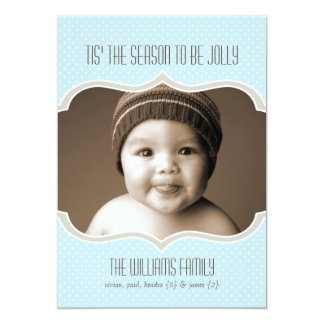 Framed in Sky Double Sided Holiday Photo Card