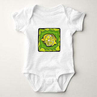 Framed Lemons Baby Bodysuit