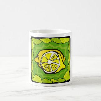 Framed Lemons Coffee Mug