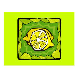 Framed Lemons Postcard