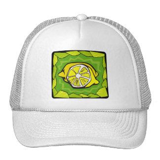 Framed Lemons Trucker Hat