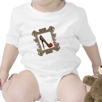 Framed Leopard Stiletto Pump T Shirt