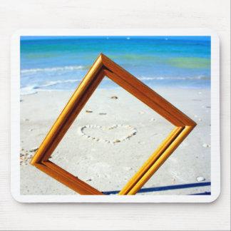 Framed Love Mouse Pad