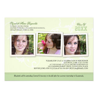 Framed Memories Graduation Personalized Announcements