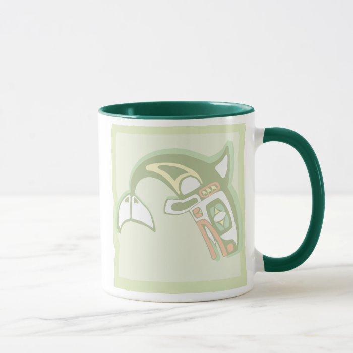 Framed Orca Mug