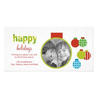 Framed Ornament Holiday/Christmas Photo Card Photo Cards