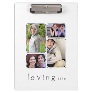 framed photo clipboard