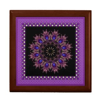 Framed Purple Mandala Gift Box