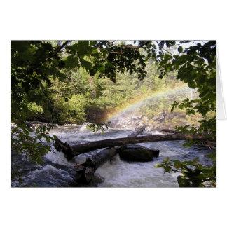 Framed Rainbow Card