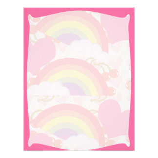 Framed Rainbows Letterhead