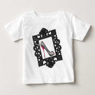 Framed Reptile Stiletto Logo Baby T-Shirt