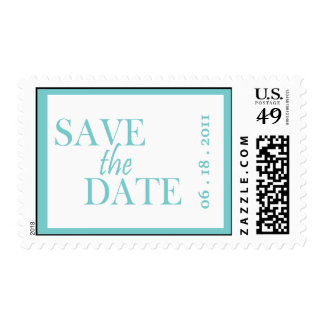 Framed Save the Date Custom Postage