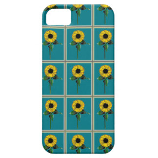 Framed SunFlower on iPhone 5/5S Barely There Case