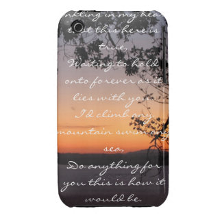 Framed Sunset iPhone 3 Covers