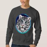 Framed White Tiger Face Shirt