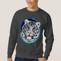 Framed White Tiger Face Shirt