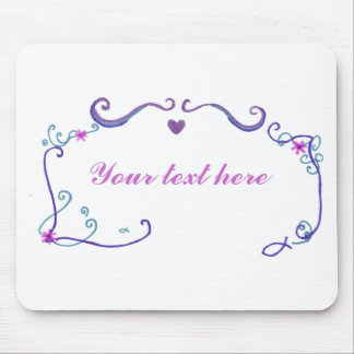 Framed with Love Mouse Pad