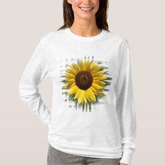 Framed Yellow Sunflower Shirt