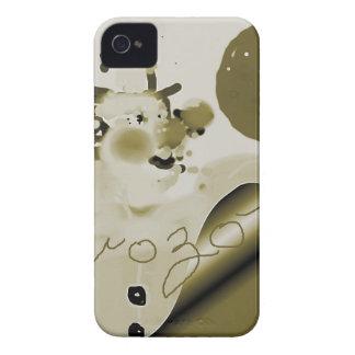 framedbozogoldtrim.png iPhone 4 Case-Mate carcasa